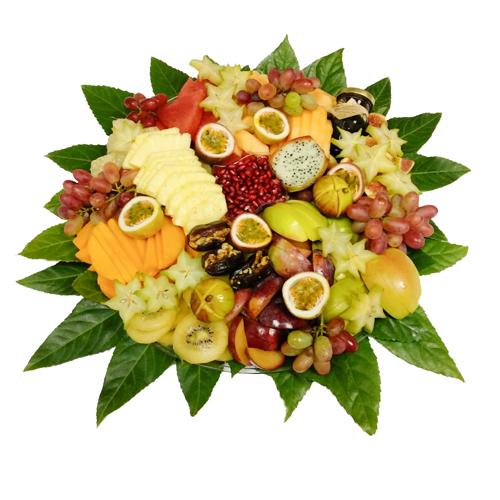 מגש פירות לראש השנה (מרכז)